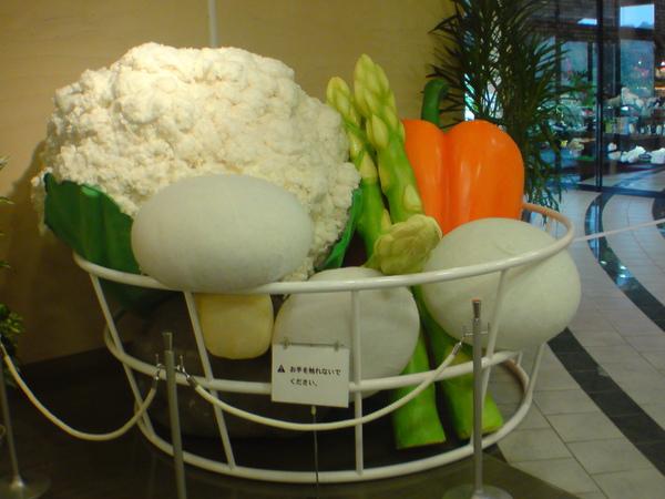 巨大蔬菜籃