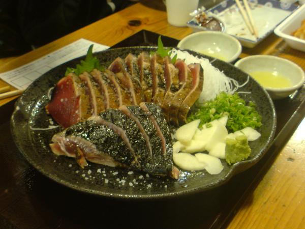 柴魚生魚片