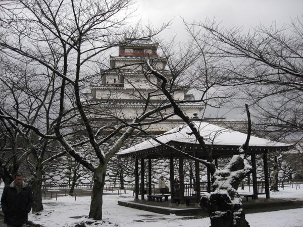 會津城庭園