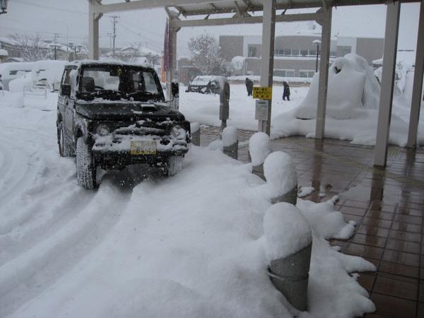會津田島車站外