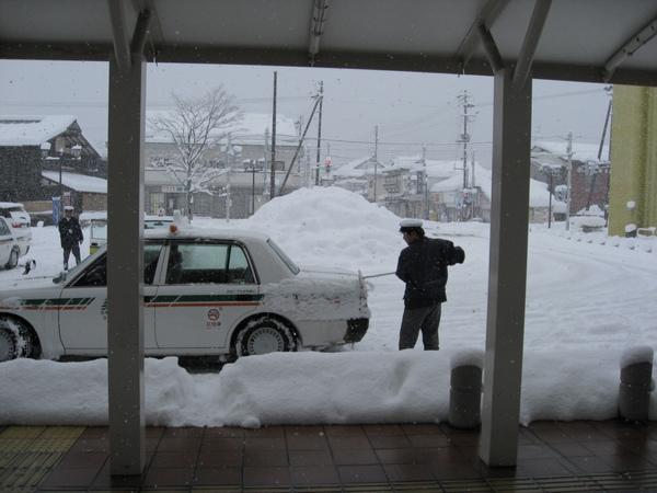 雪天地裡面生活