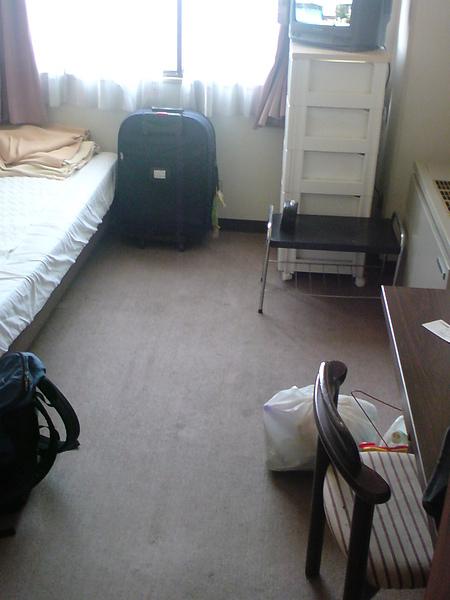 最後一天整理完的房間