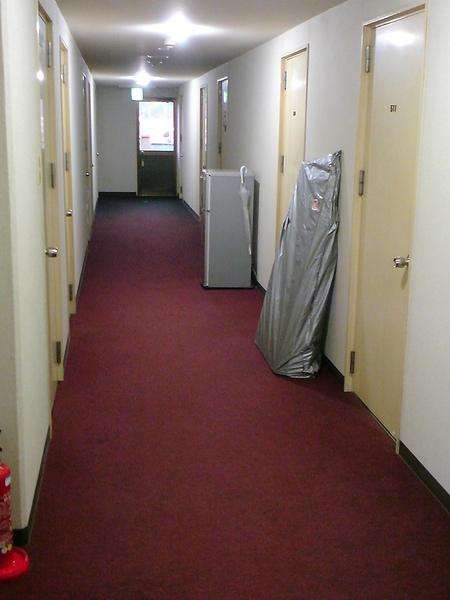 宿舍的黑走廊
