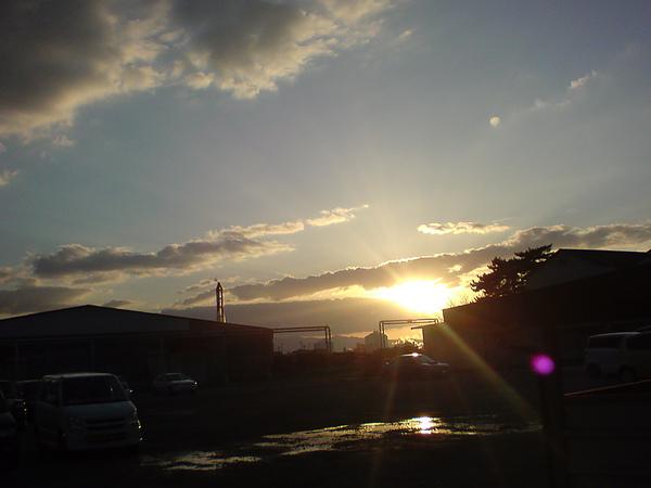 最後的夕陽