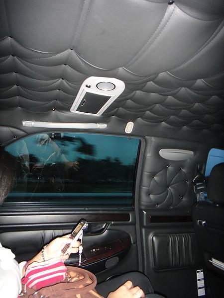 計程車內部