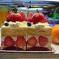 我最愛的草莓cake....