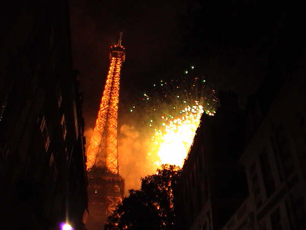 france firework
