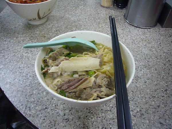 清燉牛腩麵