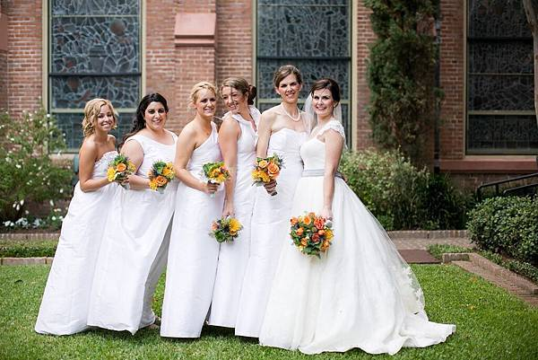 white-bridesmaid-dresses-1