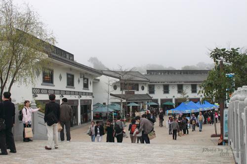 2011042503 2011香港探親血拼自由行(20)昂坪市集東摸西摸