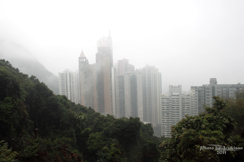 2011041130 2011香港探親血拼自由行(14)太平山山頂纜車