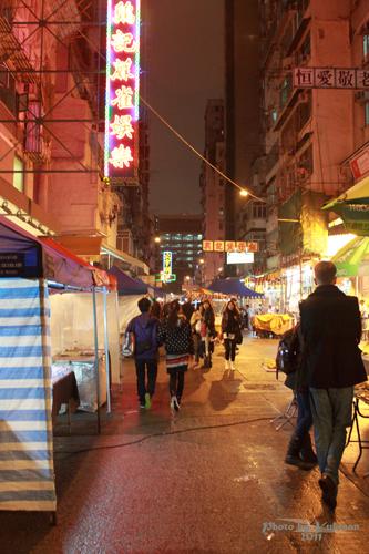 2011041402 2011香港探親血拼自由行(16)評價不高的廟街興記煲仔飯