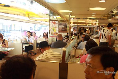 2011082808 2011香港二度血拼自由行(3)翠華餐廳so so