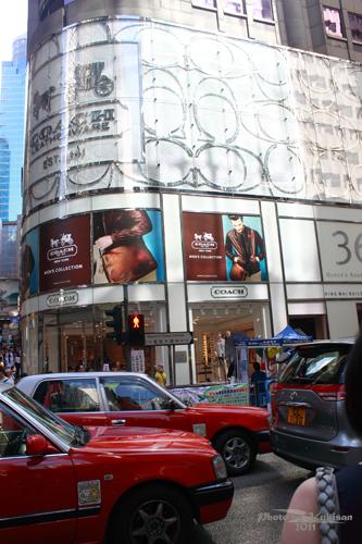 2011083005 2011香港二度血拼自由行(4)中環H&M旗艦店買不停手
