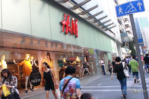 2011083007 2011香港二度血拼自由行(4)中環H&M旗艦店買不停手