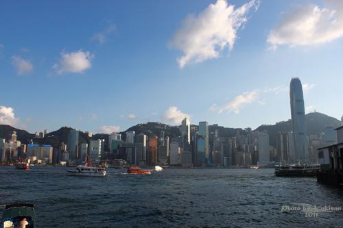 2011083110 2011香港二度血拼自由行(5)尖沙咀大鐘樓