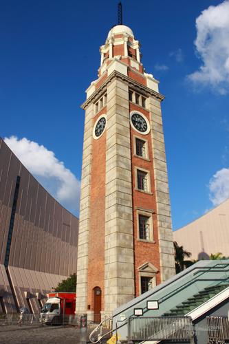 2011083111 2011香港二度血拼自由行(5)尖沙咀大鐘樓