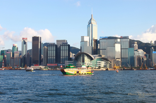2011083114 2011香港二度血拼自由行(5)尖沙咀大鐘樓