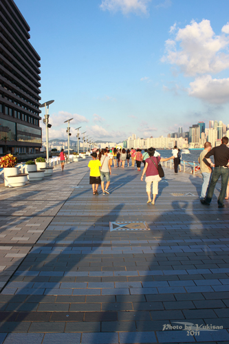 2011090304 2011香港二度血拼自由行(6)星光大道不認識的明星真多