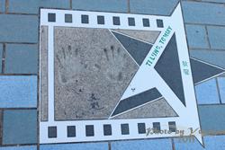 2011090307 2011香港二度血拼自由行(6)星光大道不認識的明星真多