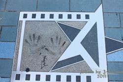 2011090311 2011香港二度血拼自由行(6)星光大道不認識的明星真多
