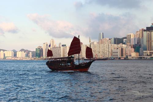 2011090323 2011香港二度血拼自由行(6)星光大道不認識的明星真多