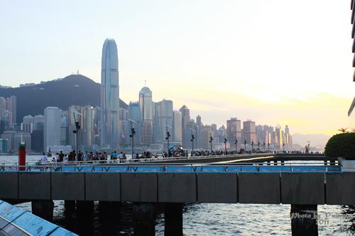 2011090328 2011香港二度血拼自由行(6)星光大道不認識的明星真多