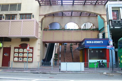 2011092803 2011香港二度血拼自由行(9)濃濃異國風的諾士佛臺