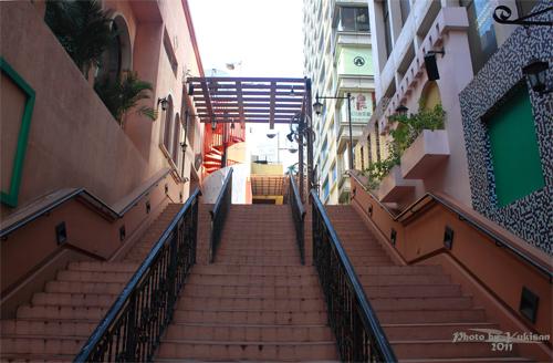 2011092808 2011香港二度血拼自由行(9)濃濃異國風的諾士佛臺