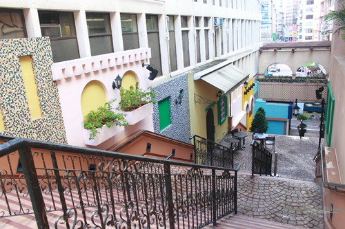2011092811 2011香港二度血拼自由行(9)濃濃異國風的諾士佛臺