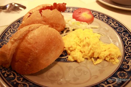 2011101108 2011香港二度血拼自由行(10)澳門冰室吃到多種港式早餐