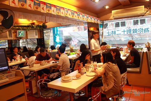 2011101112 2011香港二度血拼自由行(10)澳門冰室吃到多種港式早餐