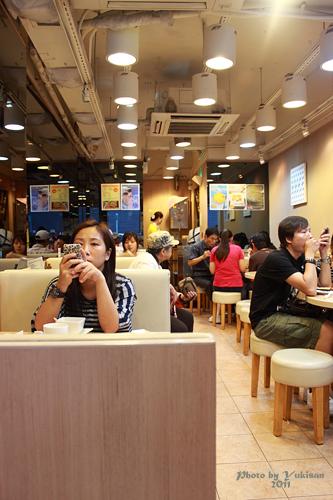 2011112911 2011香港二度血拼自由行(13)一個人的悠閒下午時光@海港城、杏花樓