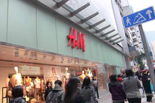 2011032427 2011香港探親血拼自由行(4)中環H&M旗艦店好好買