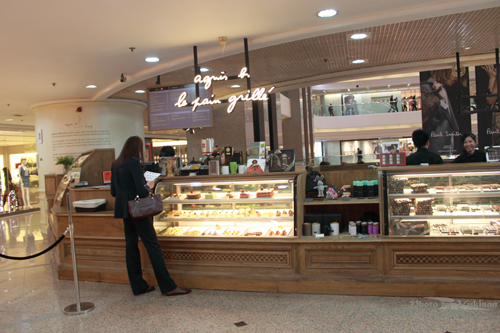 2011032819 2011香港探親血拼自由行(6)銅鑼灣時代廣場吃agnès b.下午茶