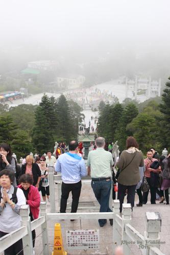 2011042712 2011香港探親血拼自由行(21)天壇大佛、寶蓮禪寺最後洗禮