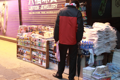 2011033106 2011香港探親血拼自由行(8)油麻地閒逛到旺角、味皇餐廳小廚港式早餐