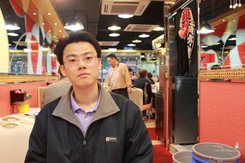 2011033111 2011香港探親血拼自由行(8)油麻地閒逛到旺角、味皇餐廳小廚港式早餐