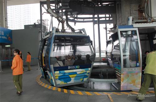 2011042013 2011香港探親血拼自由行(19)昂坪360纜車