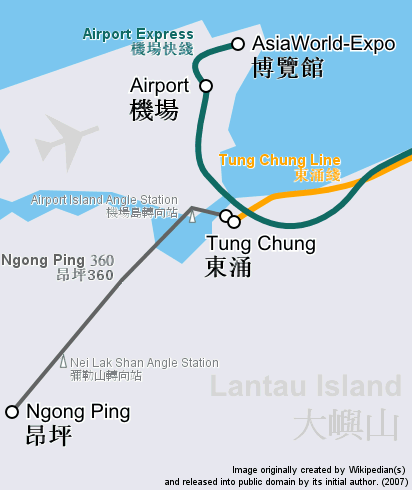 2011042001 2011香港探親血拼自由行(19)昂坪360纜車