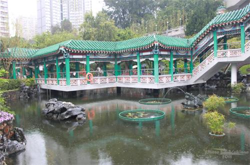 2011040126 2011香港探親血拼自由行(9)黃大仙廟雨好大哩!