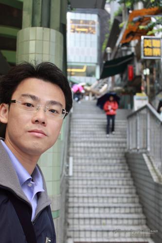 2011040210 2011香港探親血拼自由行(10)重慶森林@中環半山自動扶梯