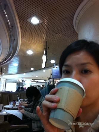 2011032836 2011香港探親血拼自由行(6)銅鑼灣時代廣場吃agnès b.下午茶