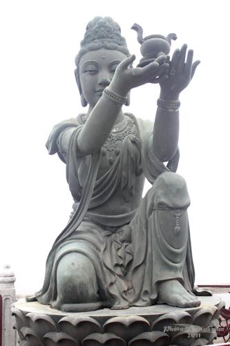 2011042711 2011香港探親血拼自由行(21)天壇大佛、寶蓮禪寺最後洗禮