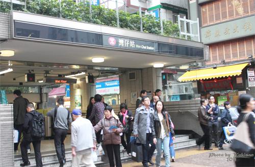 2011041014 2011香港探親血拼自由行(12)叮叮車到不了朗豪坊
