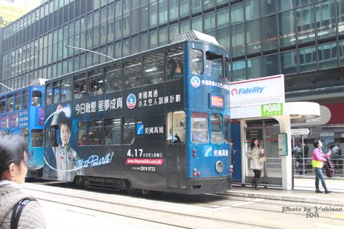 2011041007 2011香港探親血拼自由行(12)叮叮車到不了朗豪坊