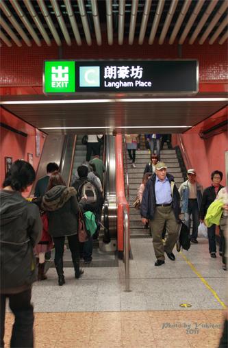 2011041017 2011香港探親血拼自由行(12)叮叮車到不了朗豪坊