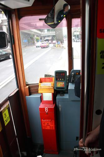 2011041009 2011香港探親血拼自由行(12)叮叮車到不了朗豪坊