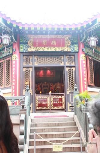 2011040121 2011香港探親血拼自由行(9)黃大仙廟雨好大哩!