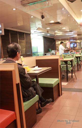 2011032712 2011香港探親血拼自由行(5)中環檀島咖啡餅店
